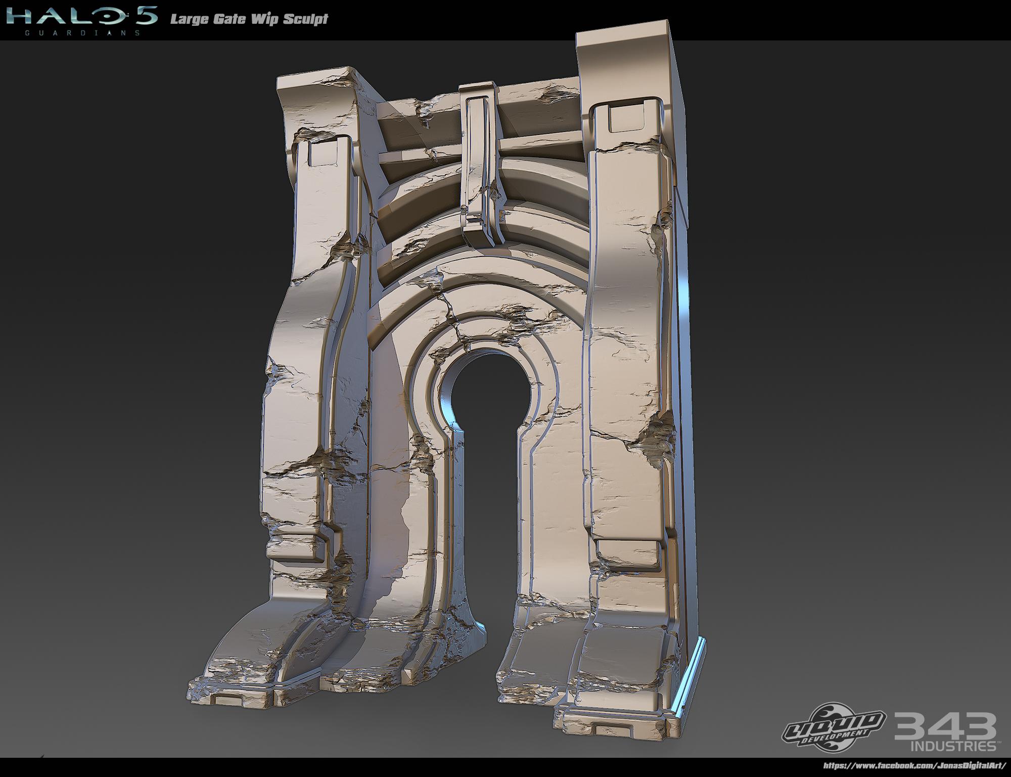 Halo 5 - Big gate