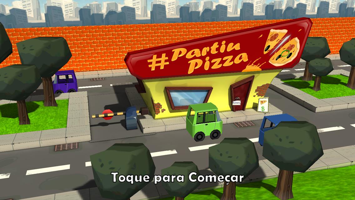 #PartiuPizza