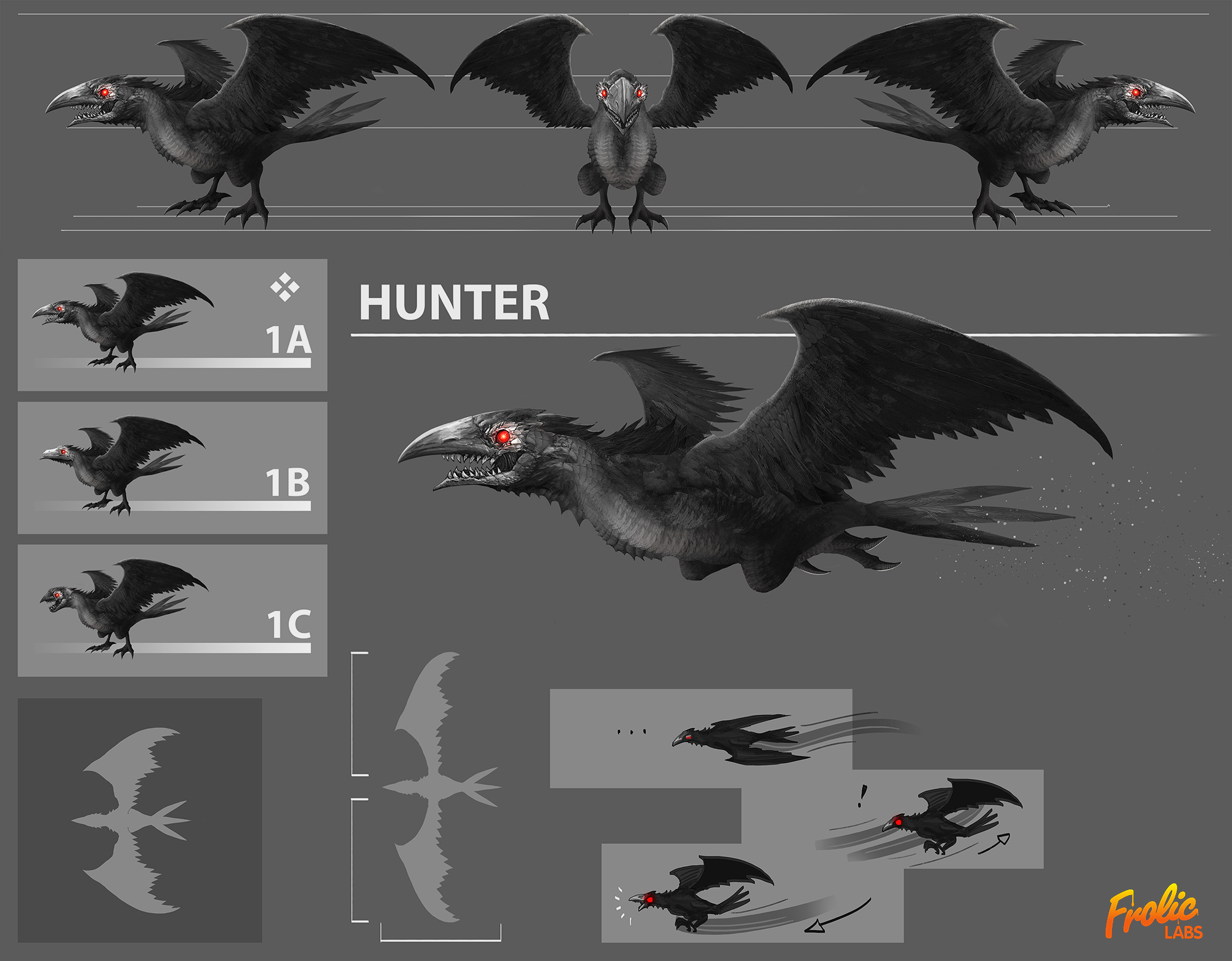 Hunter Bird Concept