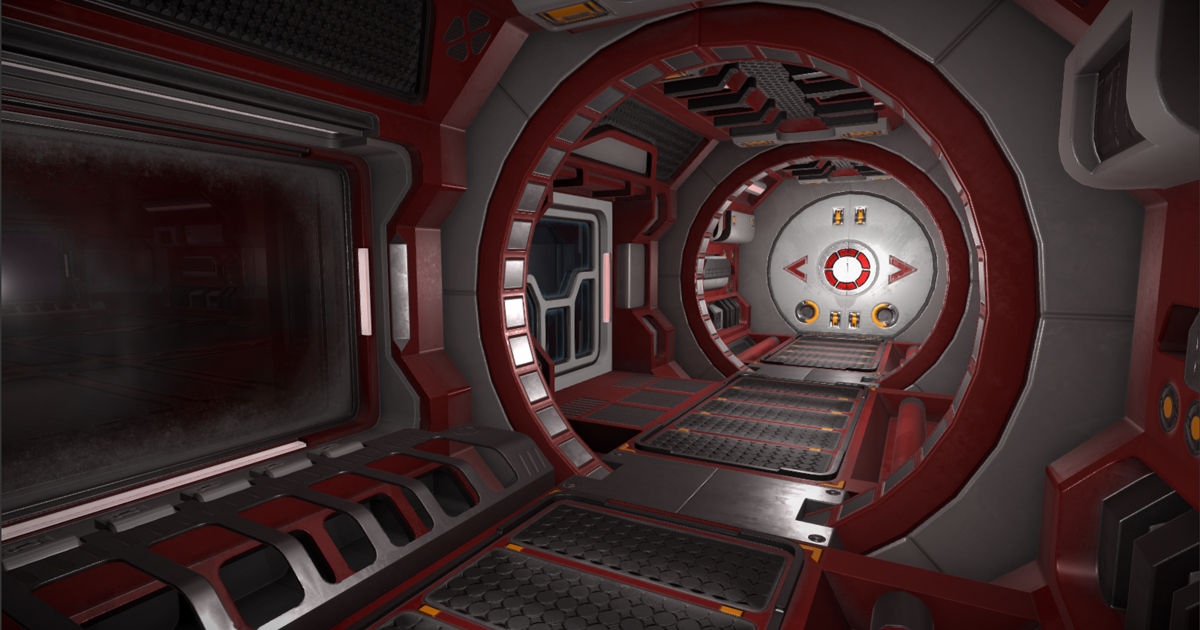 Modular sci-fi Environment B