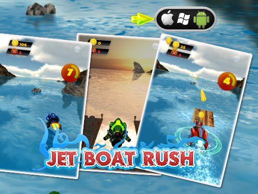 Jet Boat Rush