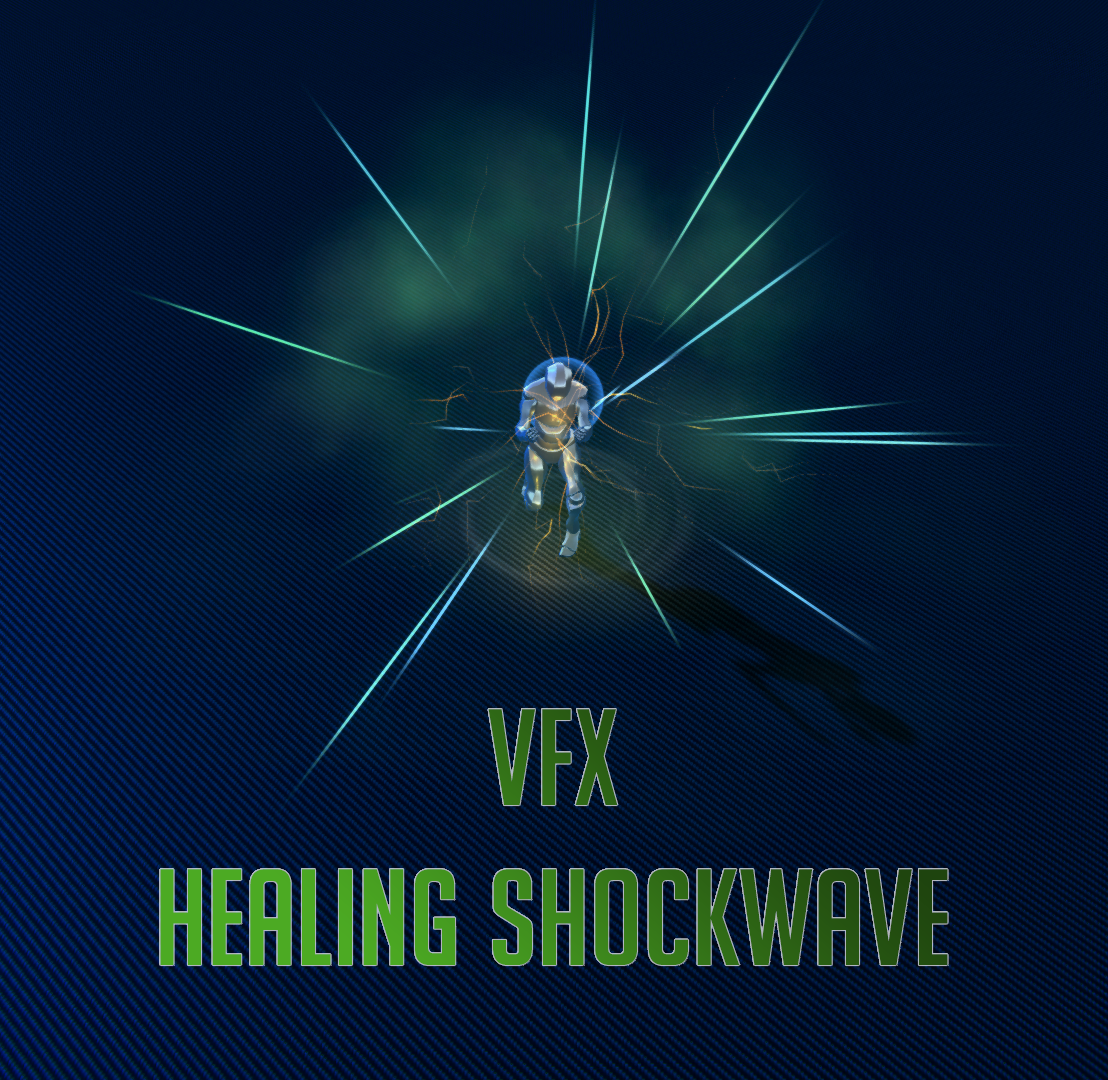 Magic Spell - Healing Shockwave