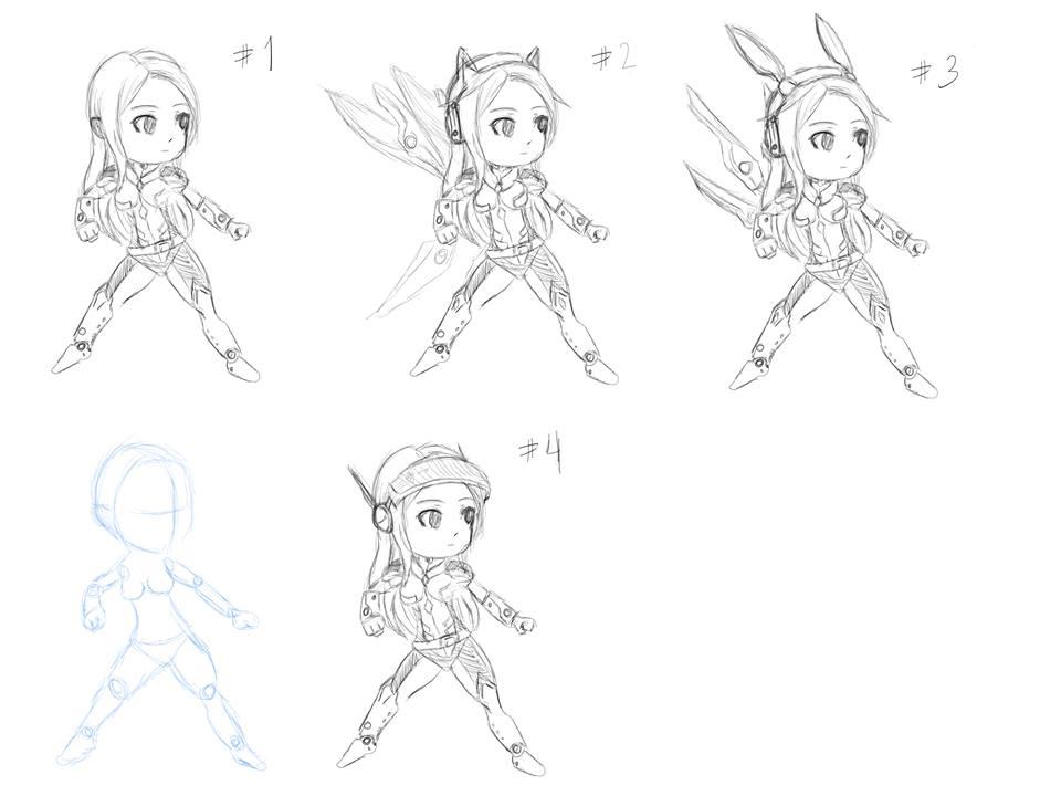 Hero01 Character concept