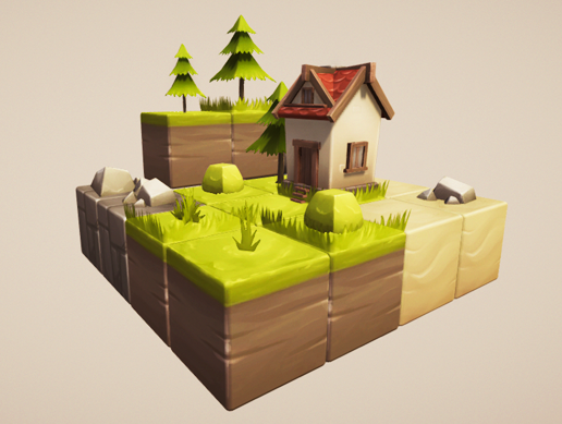 Cube World: Asset store pack