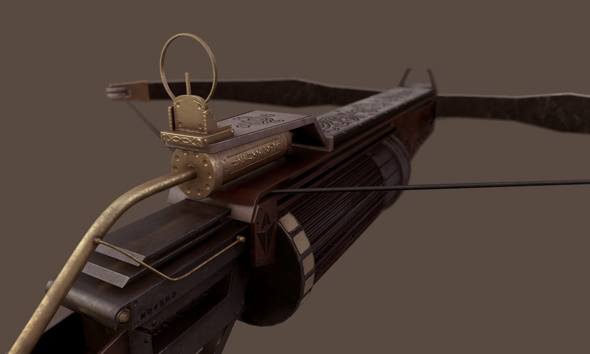 Automatic Steampunk Crossbow