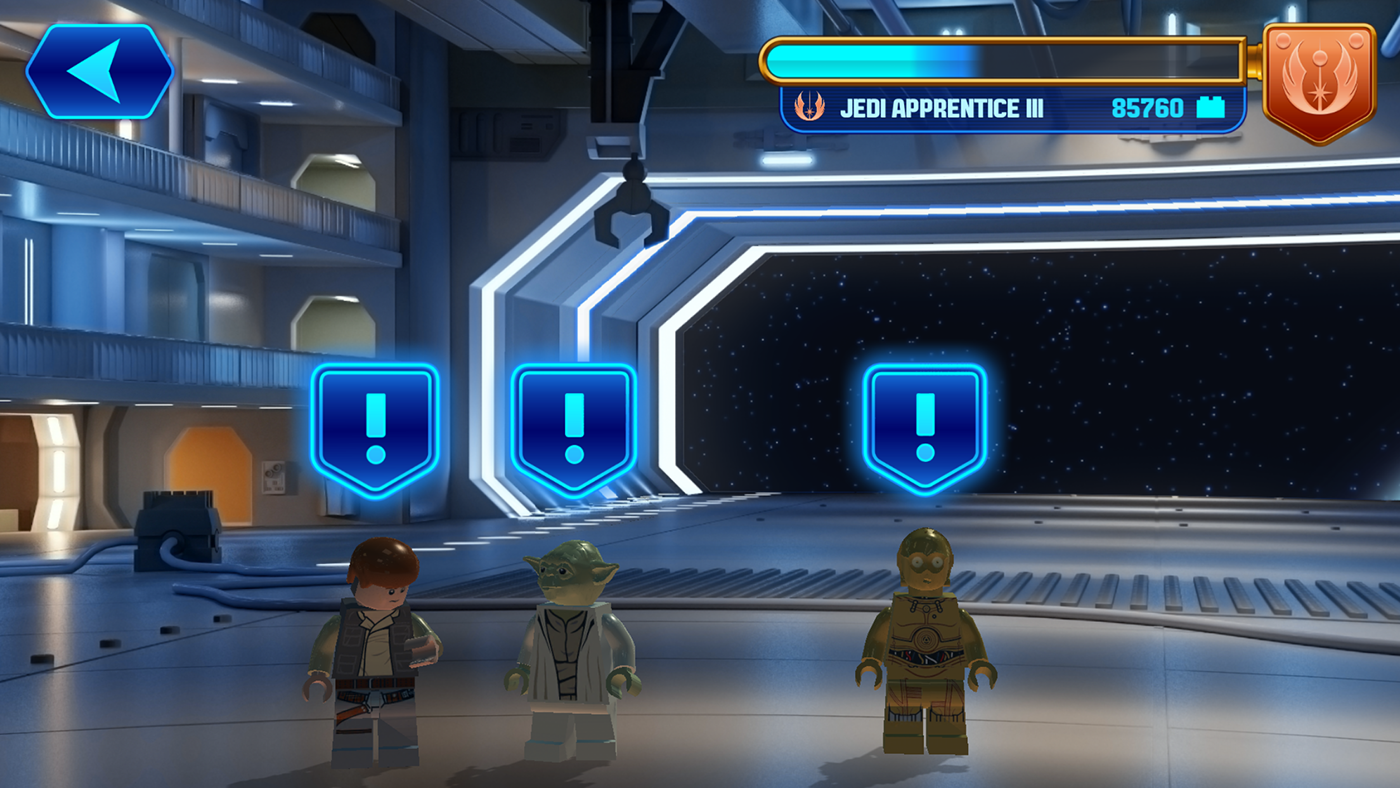 Lego Star Wars Force Builder Unity Connect
