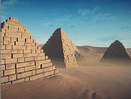 Pyramid Pack    unity Asset Store