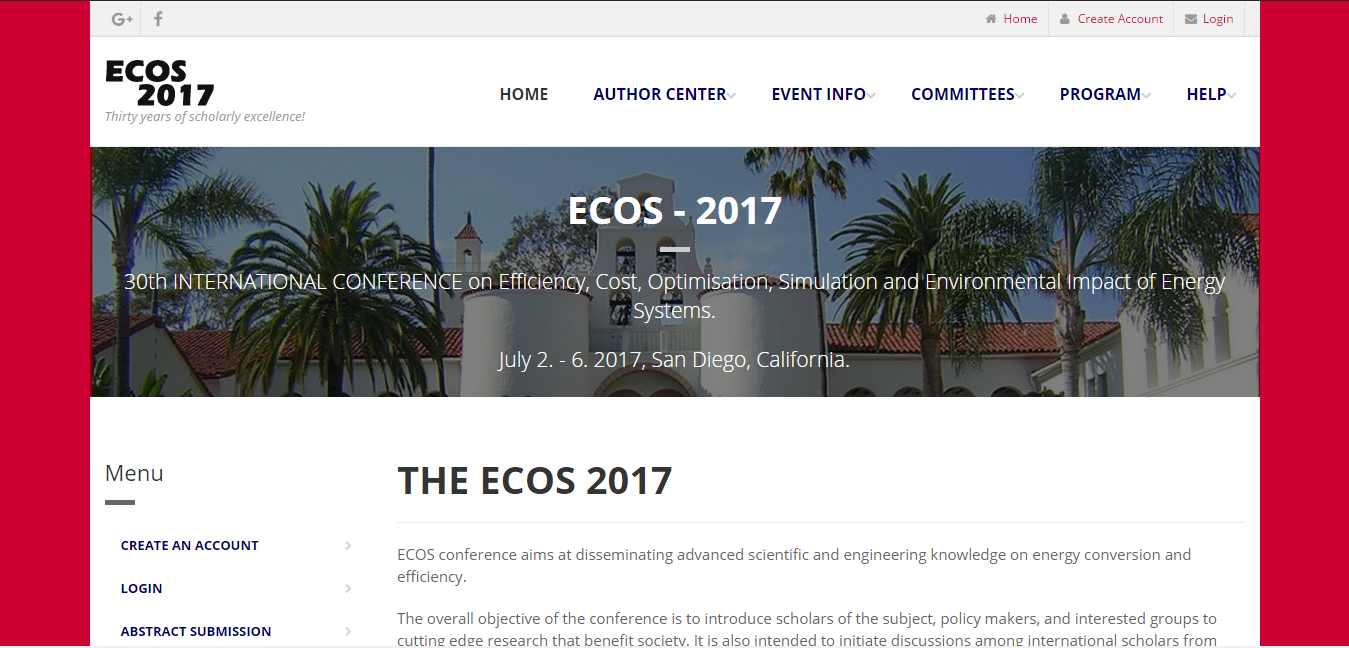 ECOS Website