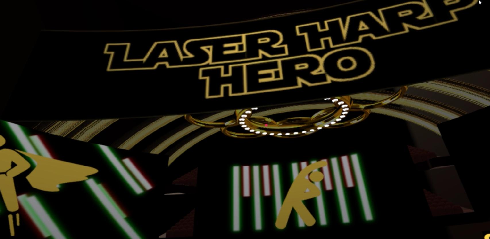 [Student] Laser Harp Hero