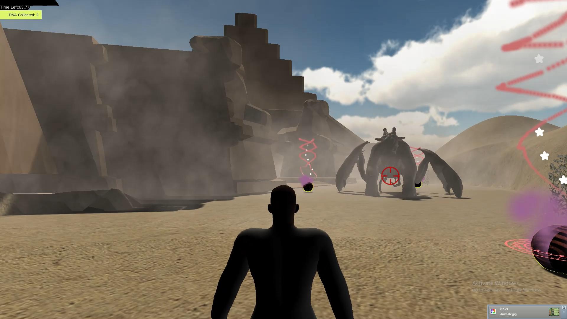 Escape from Planet Macrocosm