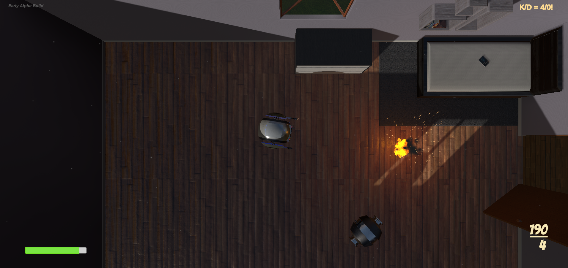 Unfinished Top-Down Shooter