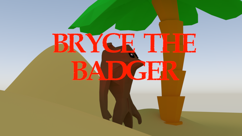 Bryce The Badger