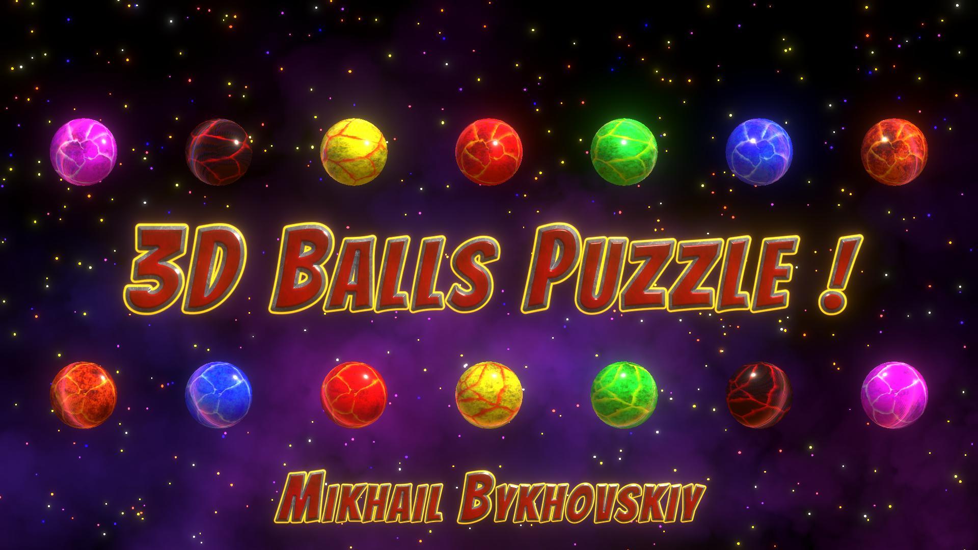 3D Balls Puzzle!