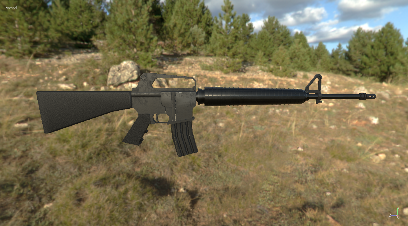 M16 Carbine Model