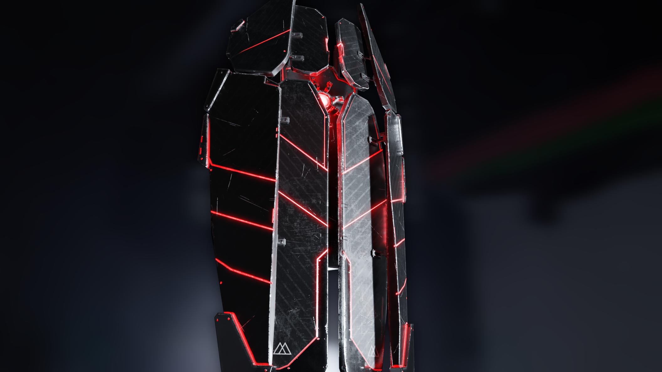GK70 Blaster Shield