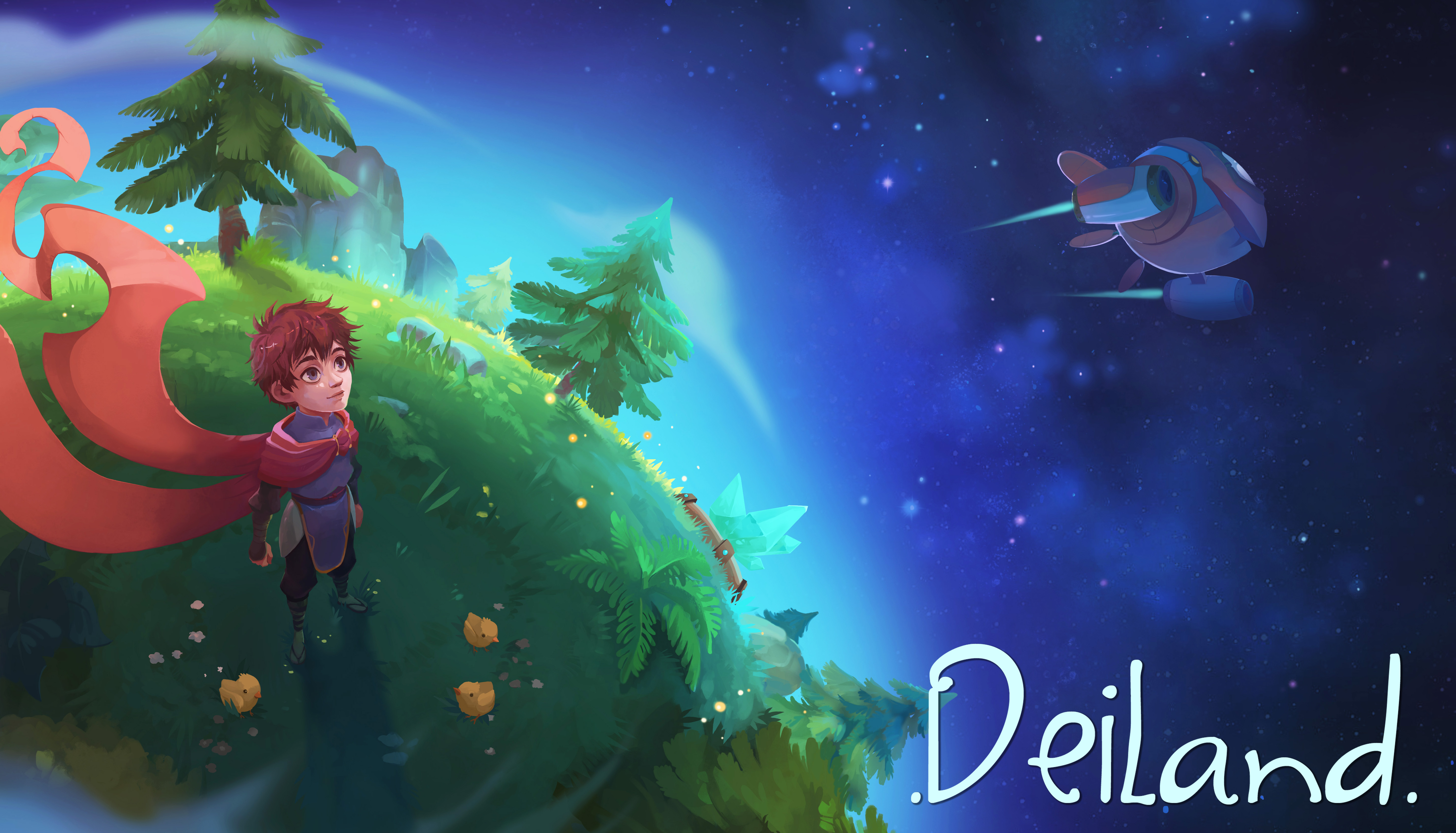 Deiland - RPG, sandbox and adventures on a little planet
