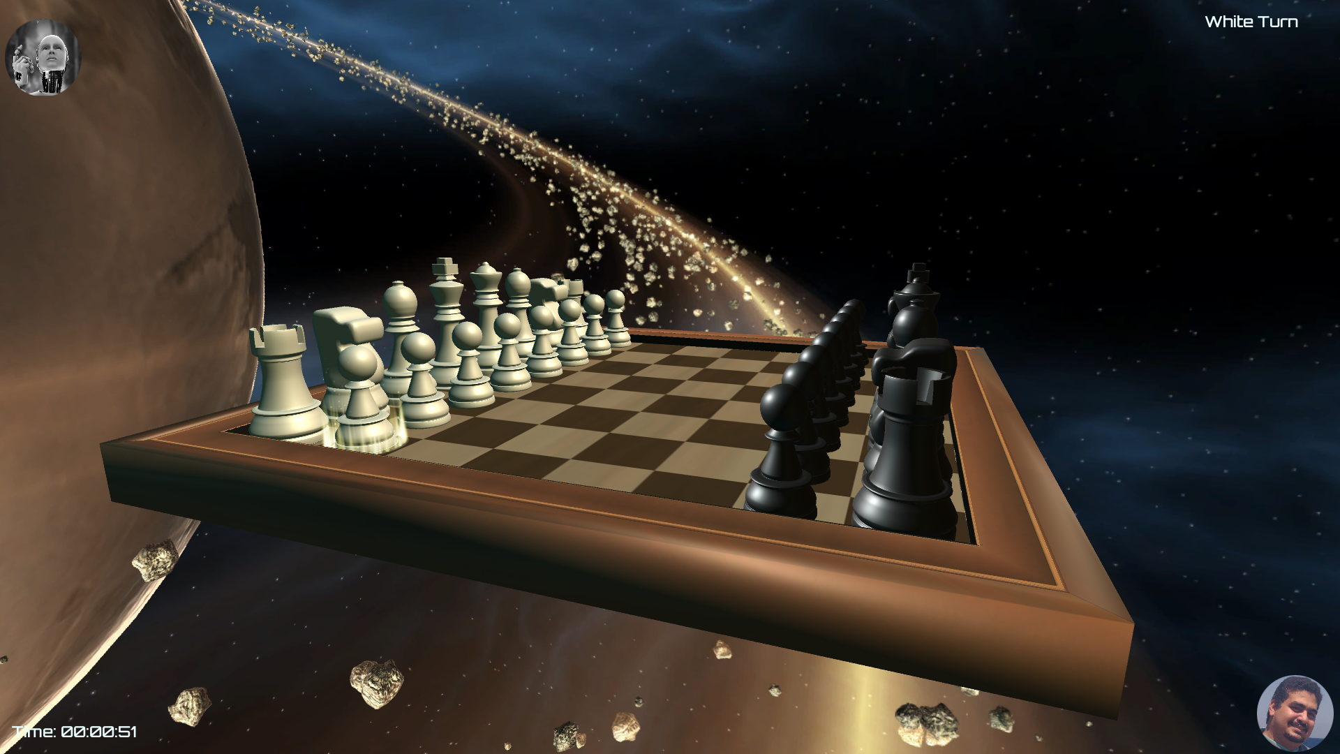 3D Space Chess