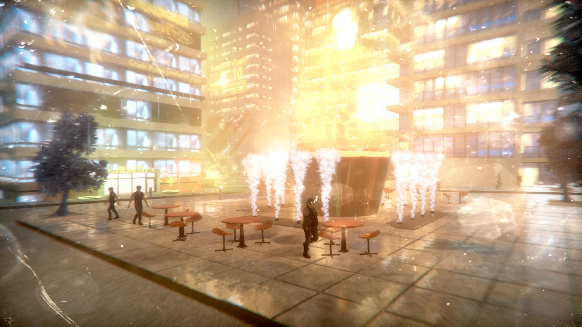 Unity City: Neon Challenge