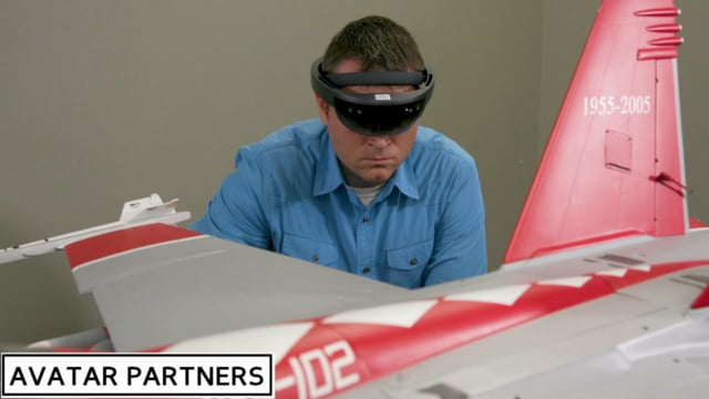 AMC NewsWatch Feature: ARMA - Augmented Reality Maintenance Aid - US NAVY F/A-18 E/F - Super Hornet