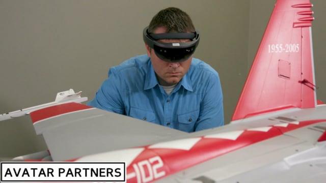 AMC NewsWatch Feature: ARMA - Augmented Reality Maintenance Aid - US NAVY F/A-18 E/F - Super Hornet