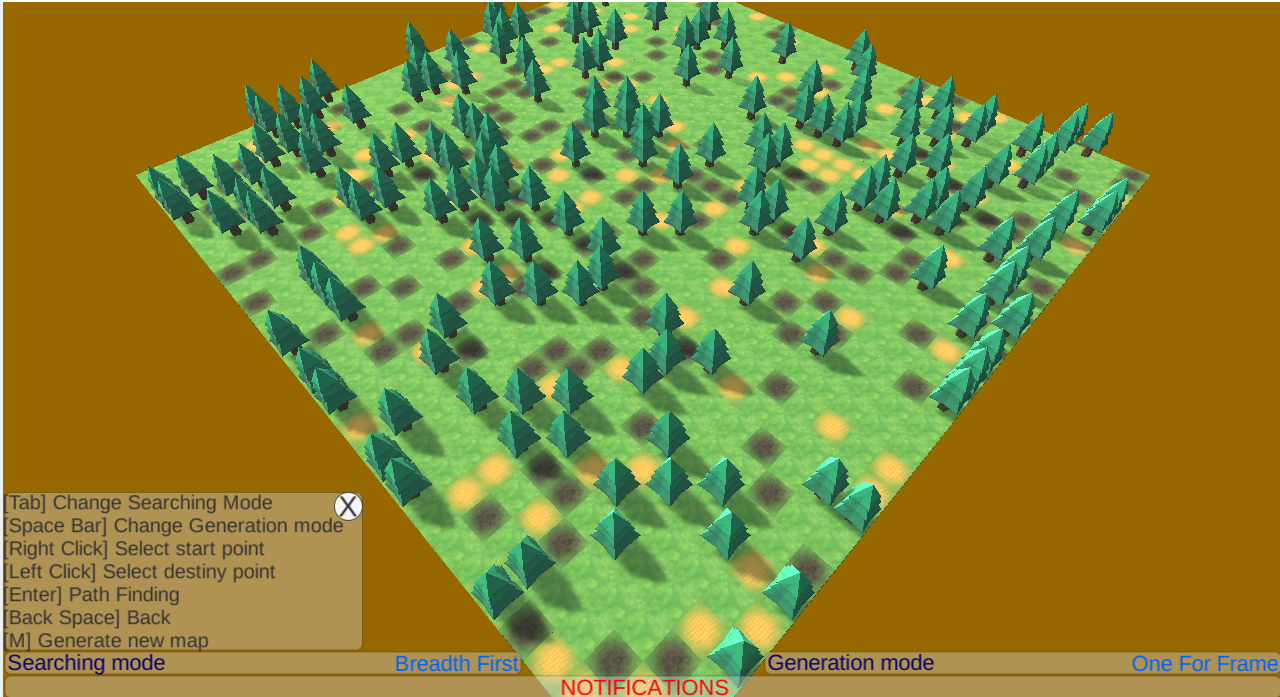 Demo Pathfinding