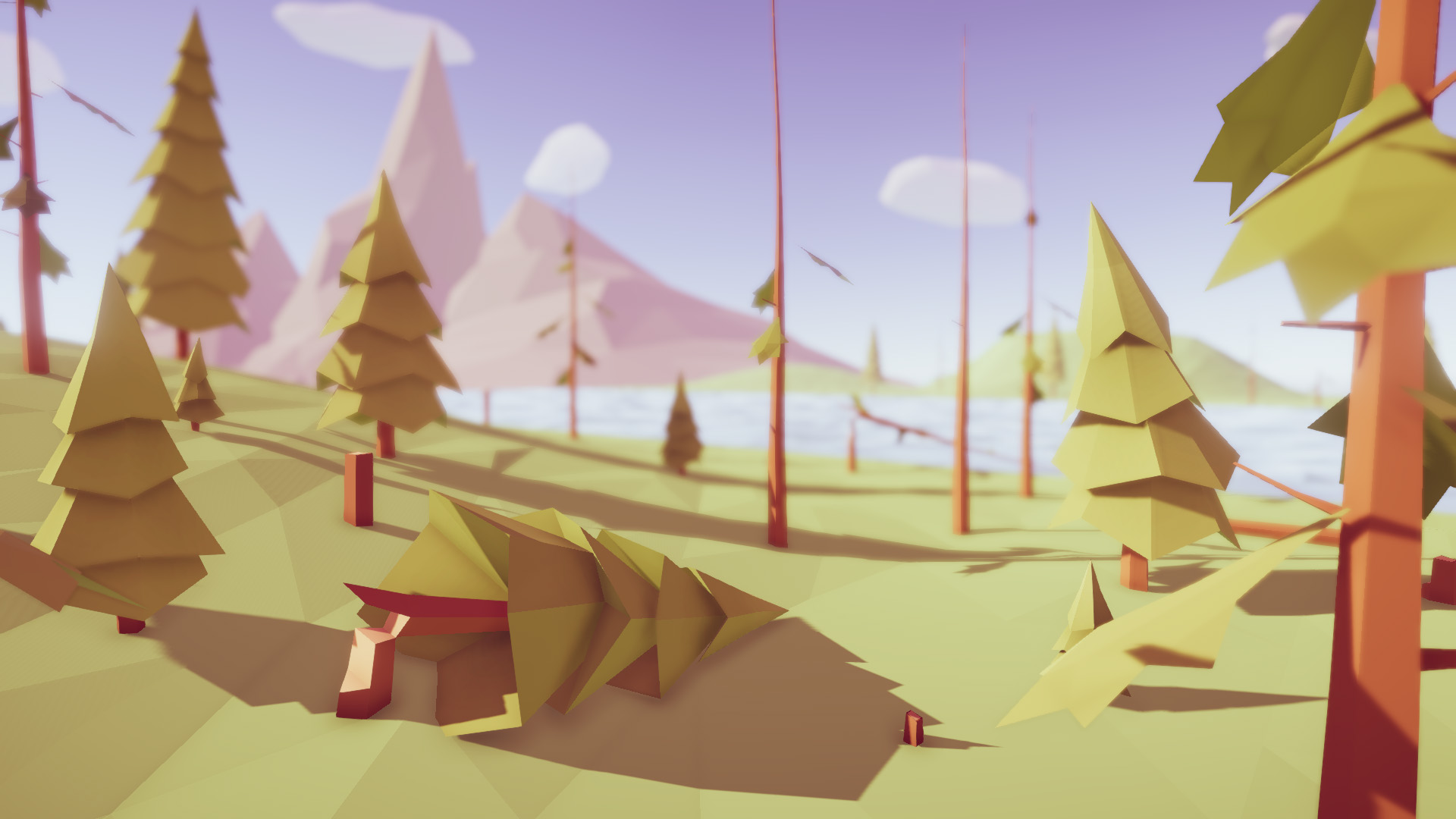 Low Poly Trees - Pack - Unity Connect