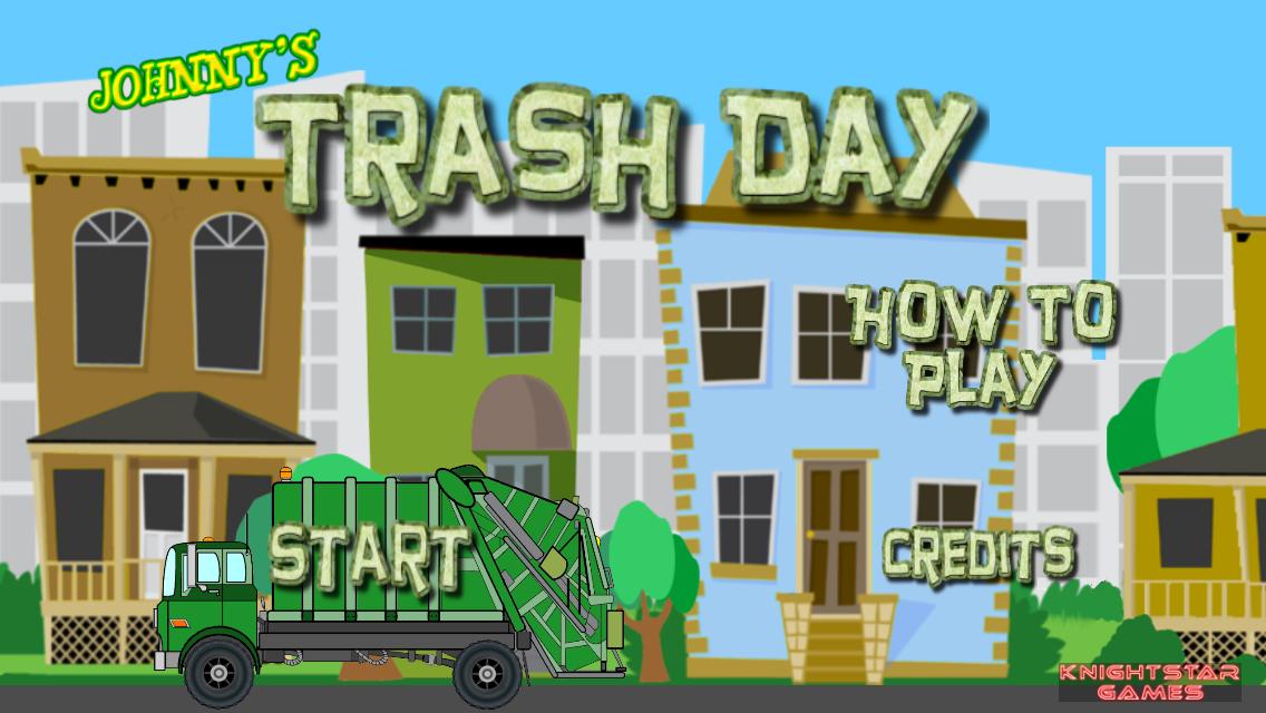 Johnny's Trash Day