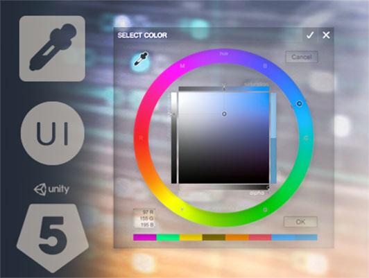 UI Color Picker & Eyedropper Tool