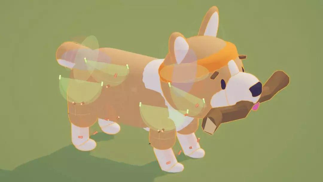 使用Unity ML-Agents Toolkit训练的可爱柯基犬Puppo