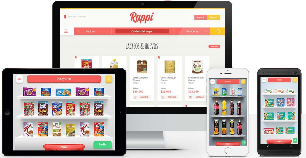 Project: Rappi for iOS | Role: iOS Programmer