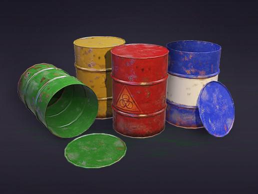 PBR Barrels
