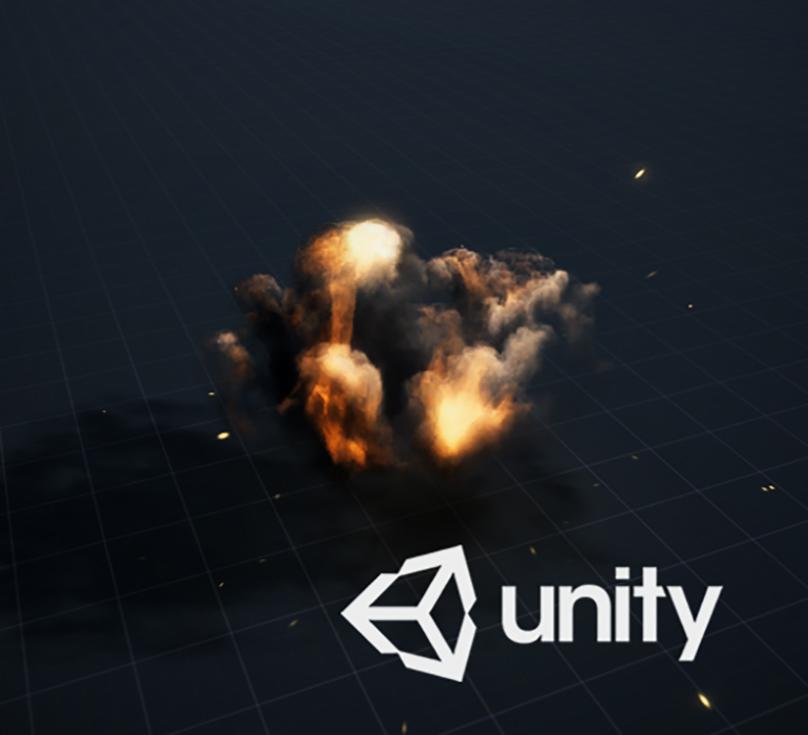 Unity3D 2017.3 - Explosion test
