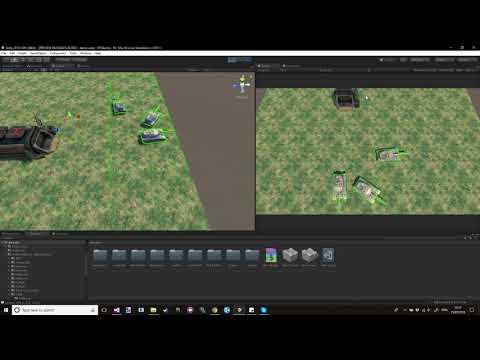 Unity RTS drag selection mechanic