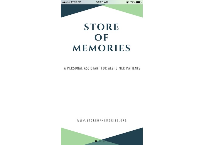 Store.Memories - An AI based approach to tackle Alzheimer's