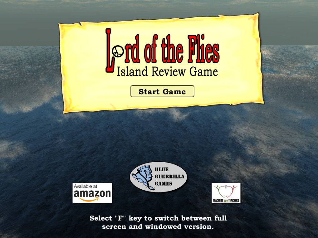 Lord of the Flies Island Review Game