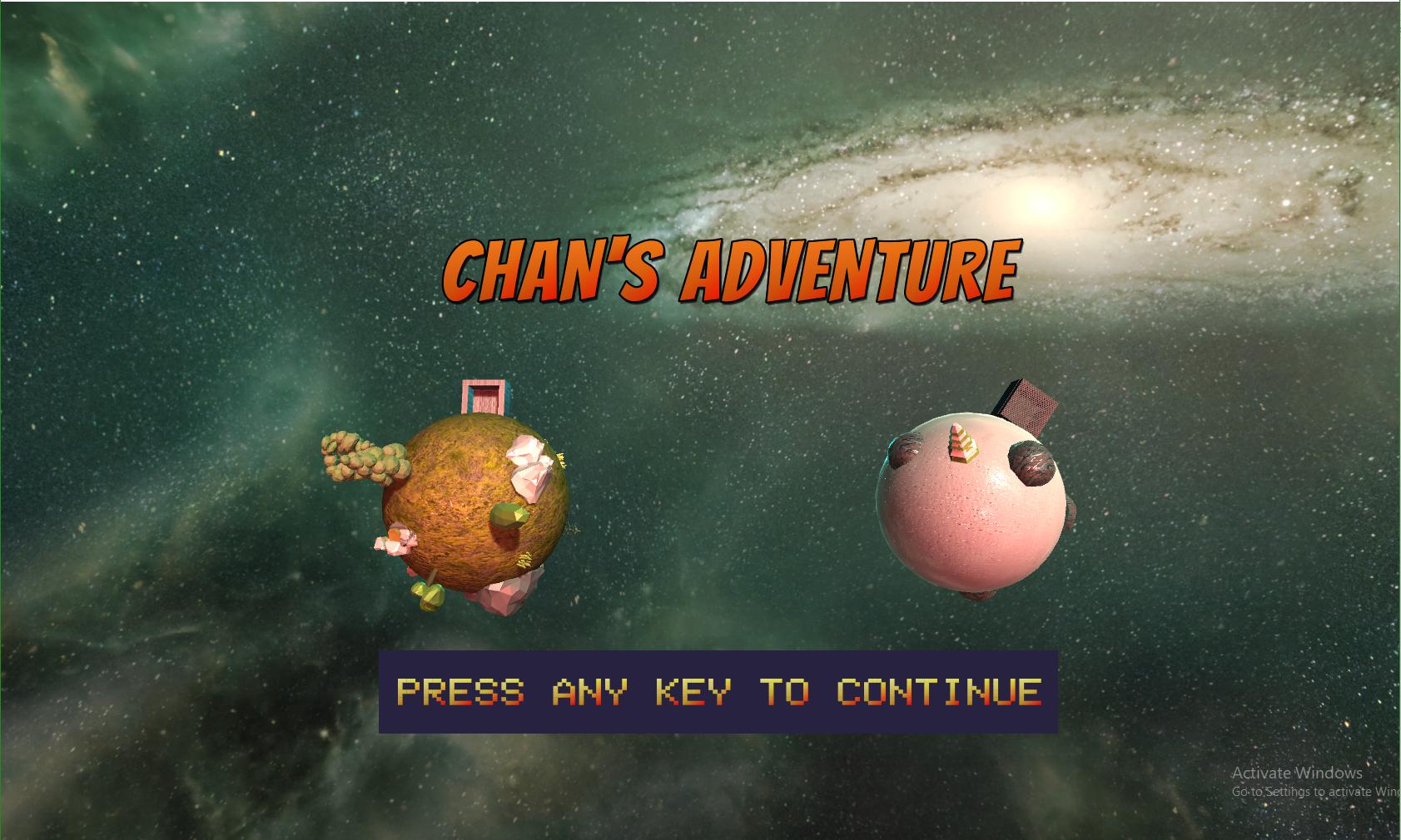 Chan's Adventure