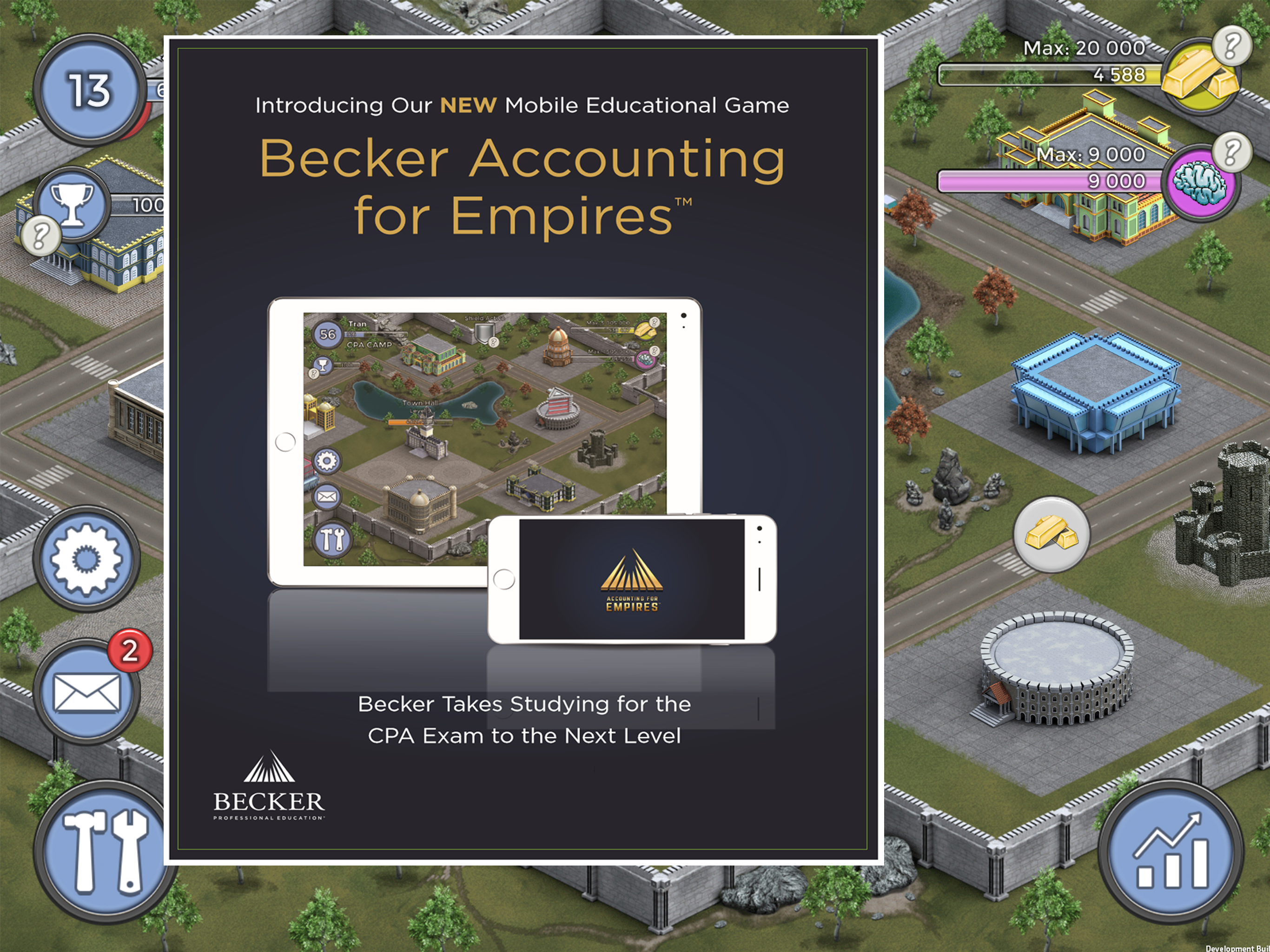 Accounting for Empires