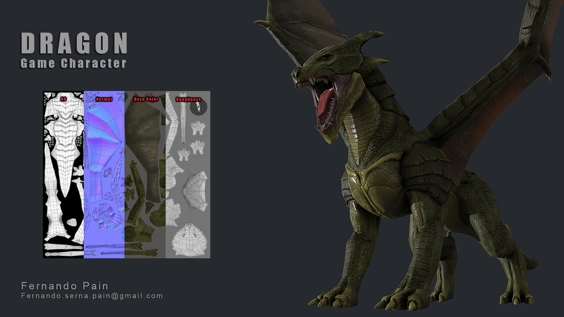 Dragon - Game Model