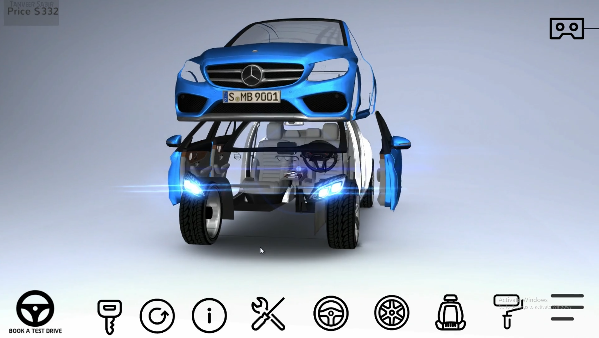 Car configurator - Mobile Device
