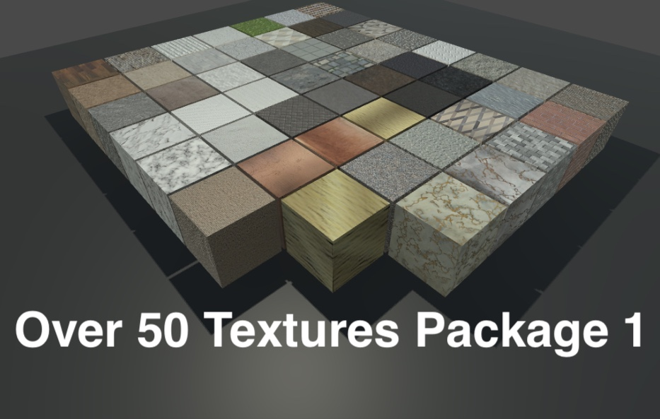 Over 50 Textures Package 1