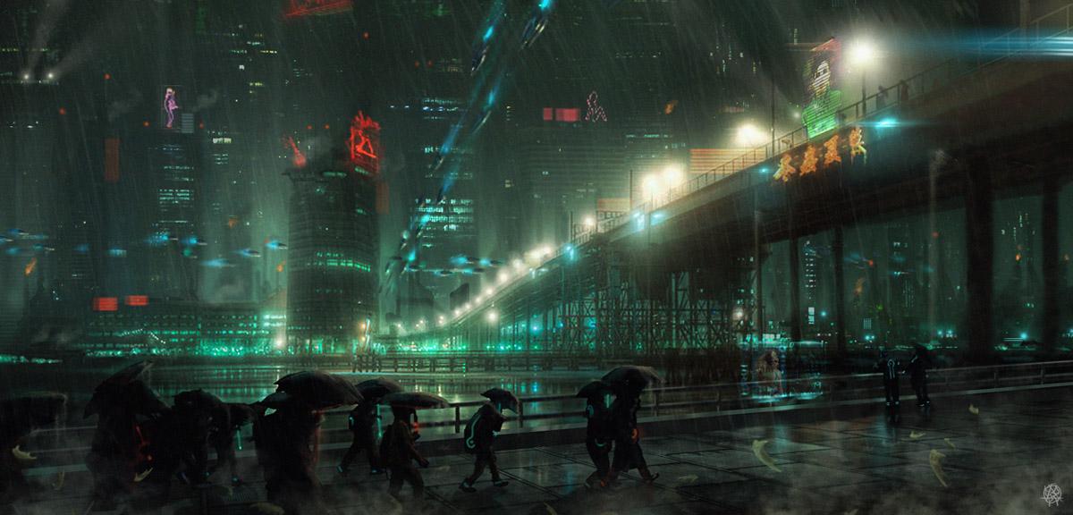SFX Demo - Dystopian SciFi Encounter