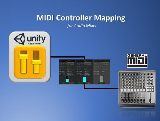 MIDI Controller Mapping for Audio Mixer