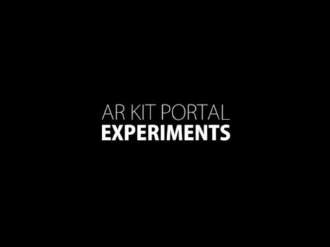 AR Kit Portal Experiment