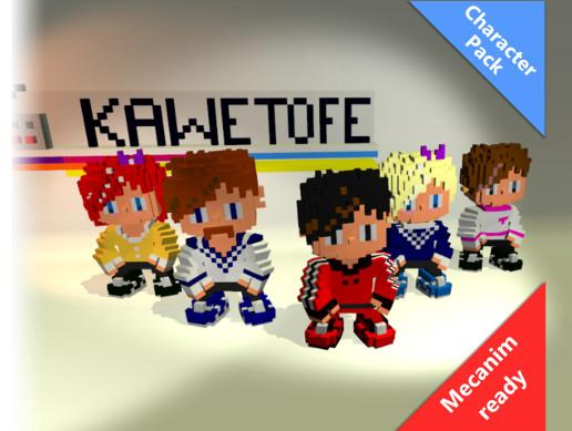 Voxel Character Pack