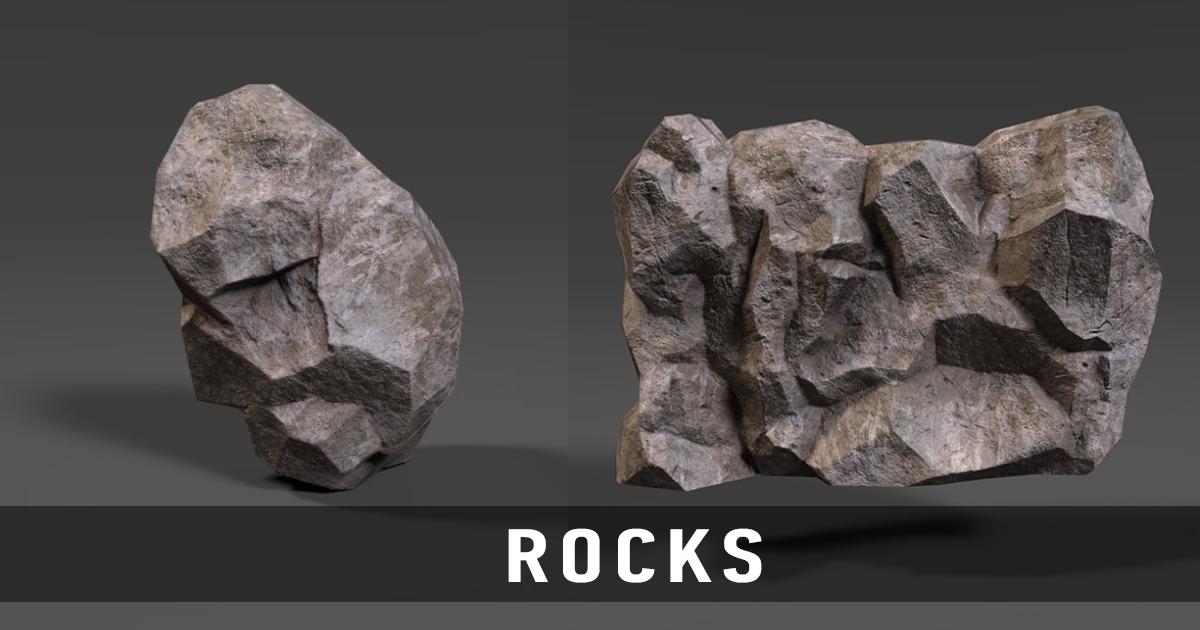 Asset - Rocks PBR
