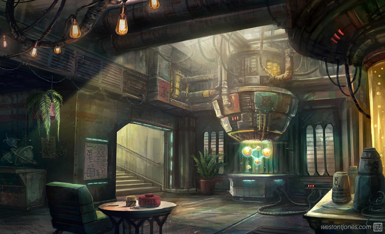 Alchemy Laboratory