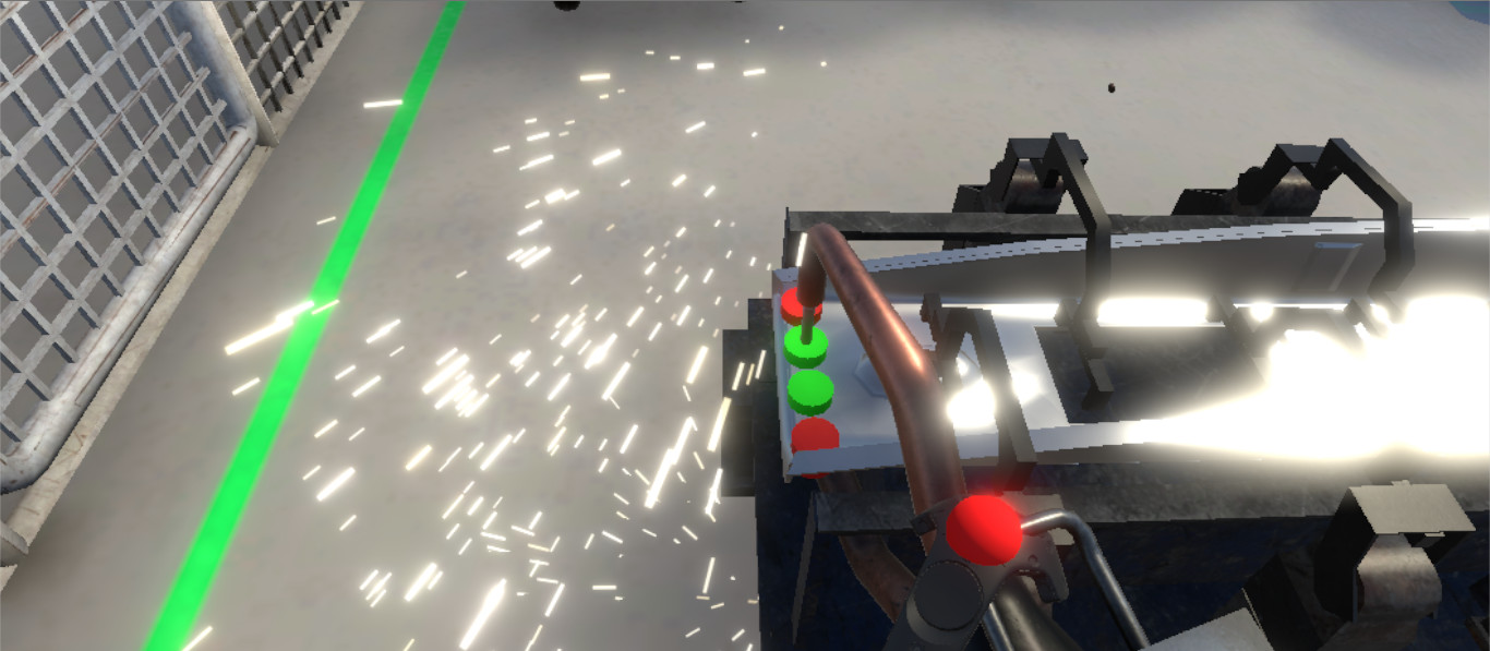 Weld Industry Training Prototype (HTC VIVE)