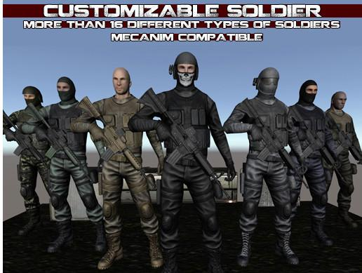 Customizable Soldier