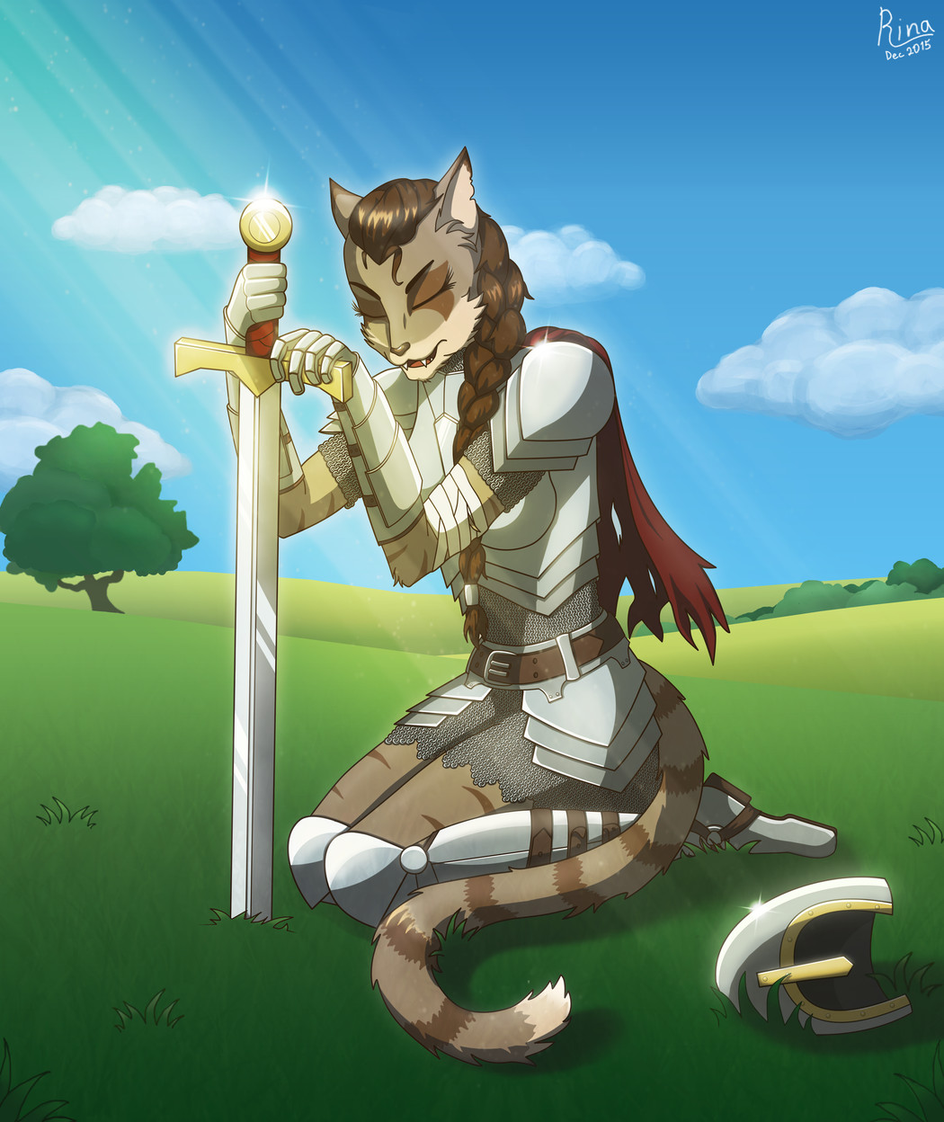 Furry knight (2015)