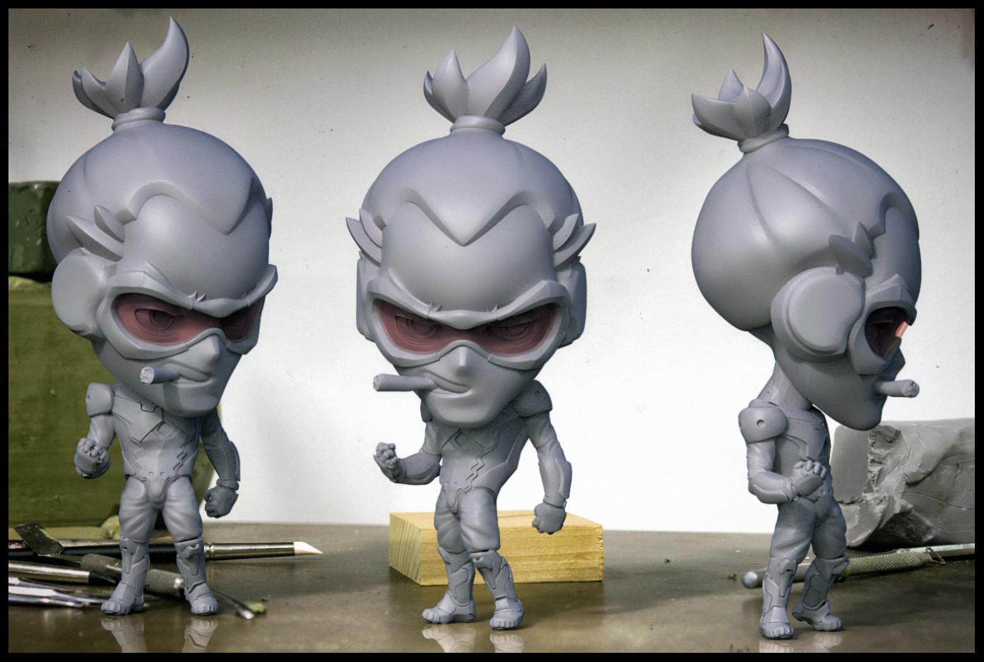 Custom Nendoroid Figures (personal work)